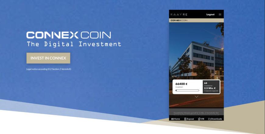 Connex Coin Token Sale - Week 1 Recap - RAAY RE
